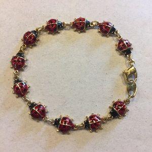 Avon Vintage Ladybug Bracelet